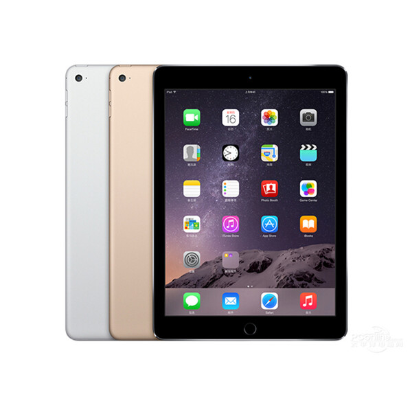 "top popular Original Refurbished Apple iPad Air 2 16G Wifi iPad 6 Touch ID 9.7"" Retina Display IOS A7 Apple Tablet DHL 2020"