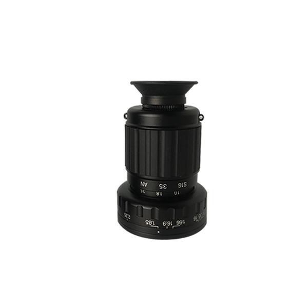 top popular KAPKUR Mini Viewfind DSLR Camera Optical Viewfinder For Most Film and TV Formats 2021