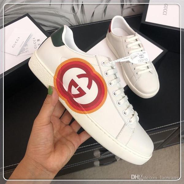 Top Luxo Shoes Mens Mulher Moda Casual Sneakers Com Box Fantasma pontapé $ Lo-top mistos Materiais Mulher Mens Platform Herrenschuhe