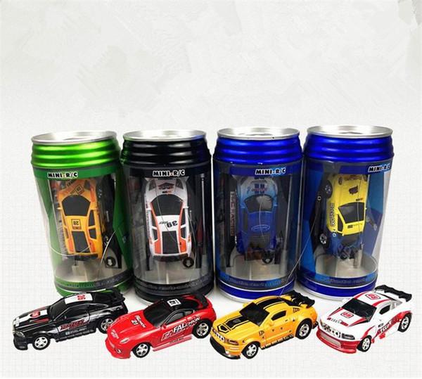 New 8 color Mini-Racer Remote Control Car Coke Can Mini RC Radio Remote Control Micro Racing 1:63 Car B11