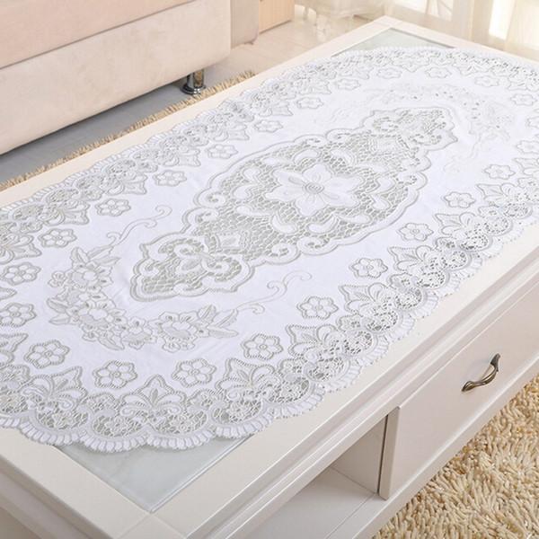 Nouvelle Arrivée Table Nappe PVC Restaurant Maison Nappe Décorative Vintage Slip-résistant Cuisine Table Basse Couverture Home Textiles XY0018