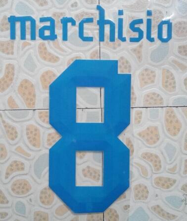 blue #8 MARCHISIO