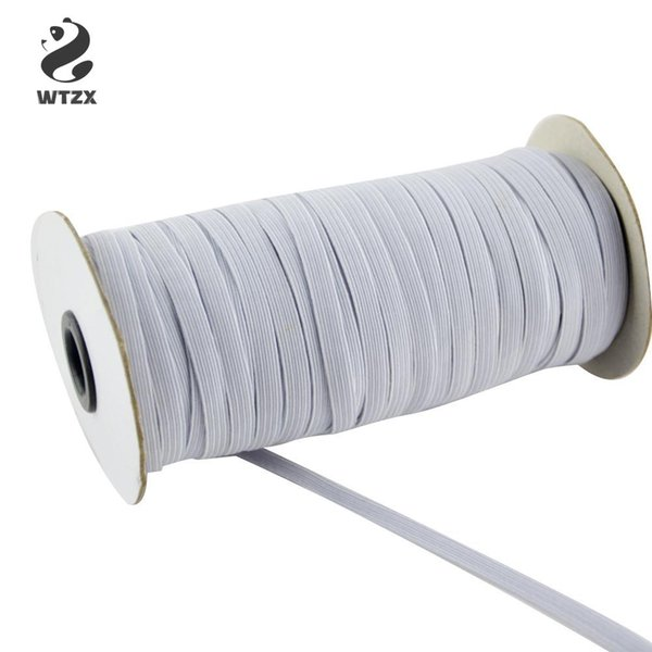 top popular 120yard 70yard Elastic Band Elastic Rope Heavy Stretch Knit Elastic Spool For DIY Mouth Cover Face Mask Clothing Sewing Fabric Accessories 2021