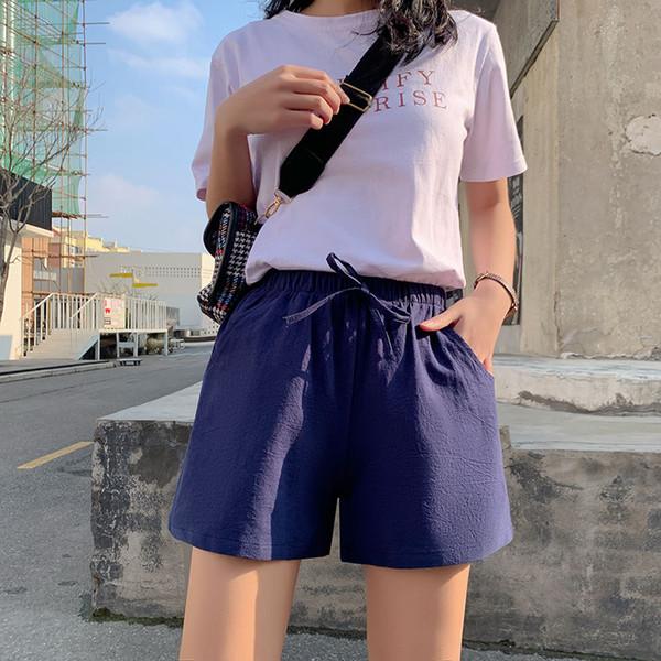 Short Bleu Marine