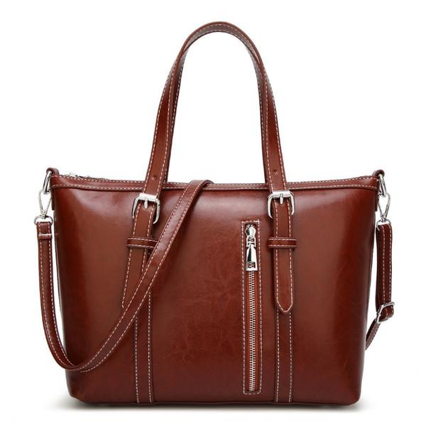 2019 New Trend Women Fashion Pu Leather Handbags Ladies Large Capacity Big Tote Bag Female Brands Designer Casual Shoulder Bags