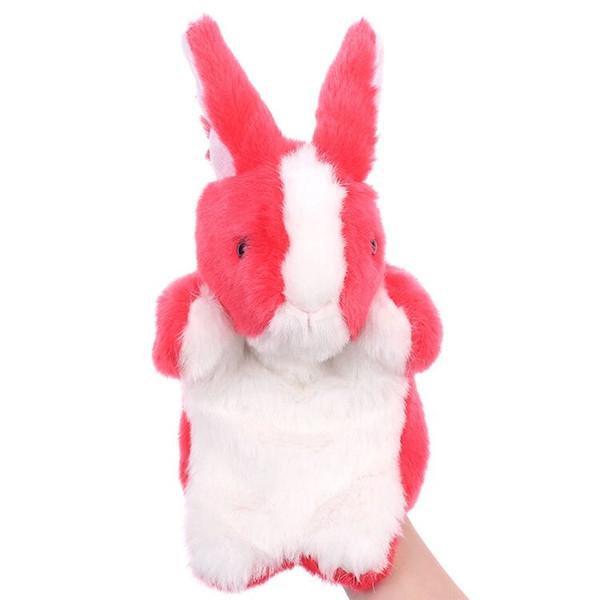 Children's Hand Dolls Lovely Rabbit Plush Toys Early Teach Dolls Parent-Child Interactive Spot