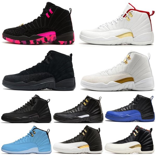 Discount Basketball Shoes 12 12s Men Shoe Doernbecher Wings Reverse Taxi Game Royal French Blue Mens Trainers Outdoor Sports Sneakers 7-13