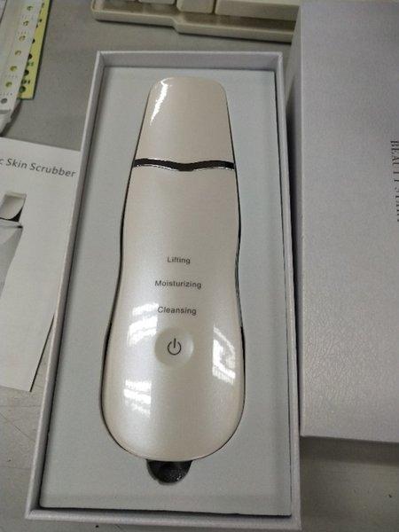 Nueva Llegada USB Recargable Ultrasónico Facial Limpiador Facial Limpiador Facial Peeling Vibración Eliminación de puntos negros Exfoliante Limpiador de poros Herramientas