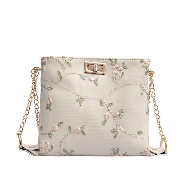 Embroidery Cross Body Bag Women Messenger Bag Fashion PU Leather Shoulder Bags luxury handbags designer high quality bags #15