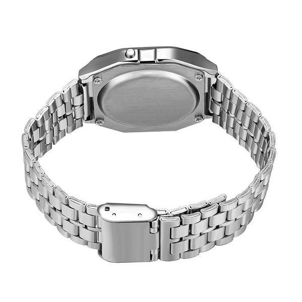 Retail F-91W Sports LED Wach Luxury Gold Watches F-91W Steel Belt Thin Electronic Watch f-91w Watches 68