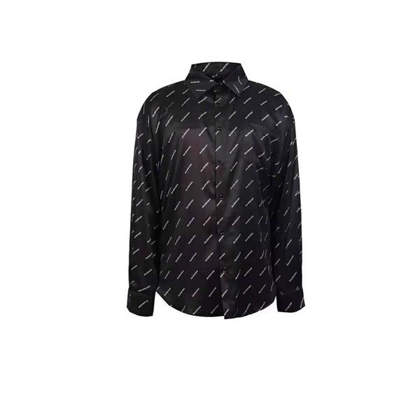 2019 fashion V designer slim shirt hombres 3D Medusa estampado floral vestido de hombre manga larga camisa casual de negocios talla de hombre M-XXXL