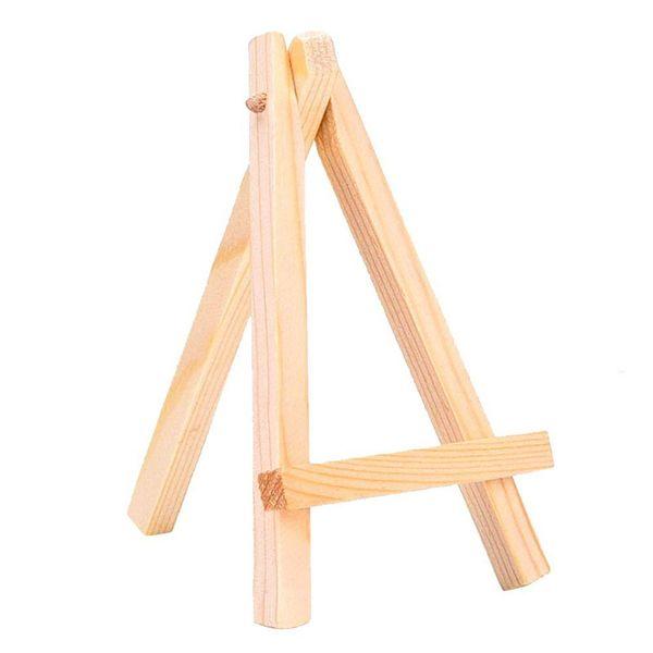 Mini Kleine Unvollendete Holz Künstler Staffelei Bild Halter Stativ Malerei Postkarte Display Halter Rahmen Schreibtisch Dekor Holz Handwerk
