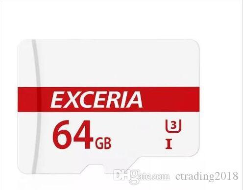 EXCERIA newest U1 Mini single card Micro SD 32GB 64GB Class10 Micro SDXC UHS-I Card for Android Powered Tablet PC Digital SmartPhones