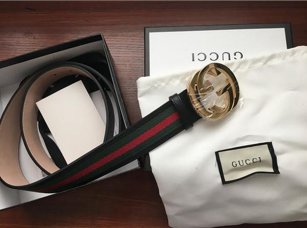 2019 ceinture en cuir vente chaude 2019 Hommes mode marque designers luxe ceinture en cuir véritable or lettre boucle ceinture ceinture livraison gratuite