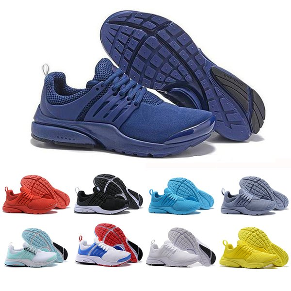 Top Sale Presto Running Shoes Men Women Ultra BR QS Yellow Red Prestos Black White Oreo Outdoor Jogging Brand Mens Trainers Sneakers