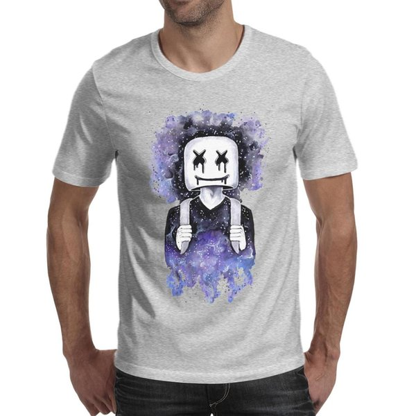 Dj marshmello wallpaper Gallery 2019 Summer make a T Shirt For Men crazy cotton shirts