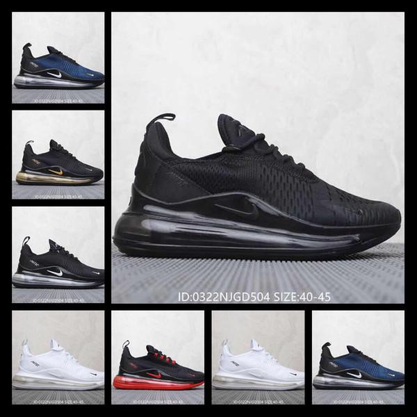 Compre Con Reloj Deportivo 2019 Designer Shoes Nike 270+720 AIR MAX Hombres De Los Zapatos Corrientes Respirables Del Acoplamiento Ligero Hombres De
