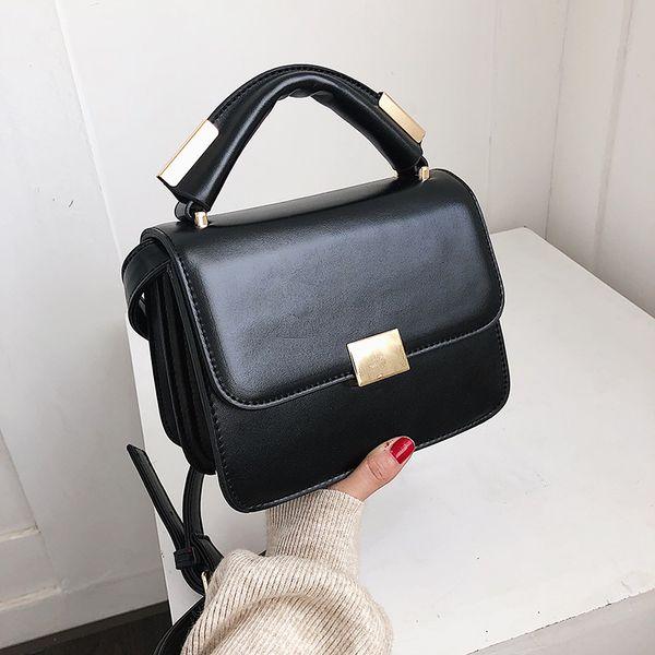 Leather Hand Plain Bags Women Purse Shoulder Bags Cross body Strap bags Female Bolsa Sacs Daidai wanggong /1