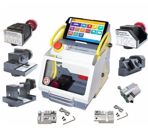 Top Quality SEC-E9 Full Clamps CNC Automatic Key Cutting Machine For Car Keys & House Keys Better Than Slica I80 Key Machine