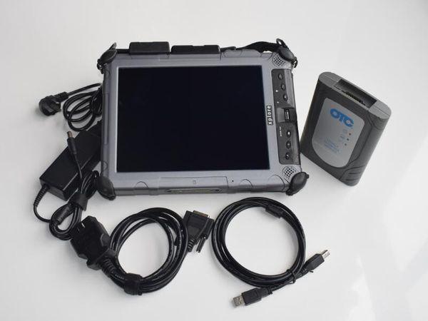 for toyota Diagnostic it3 otc scanner Global Techstream GTS OTC VIM OBD V13.10.019 ssd Installed in ix104 laptop i7cpu ready use