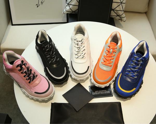 2019 Designer Sneakers Red Bottom Schuh Luxus Schuhe für Männer und Frauen Schuhe Party Hochzeit Kristall Leder Sneakers wl19021802