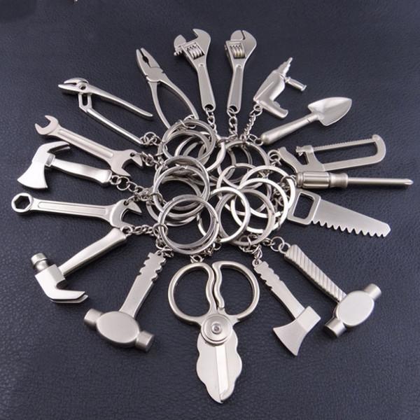Herramientas creativas de metal llavero de metal llavero herramienta llave colgante bolsa colgante regalo festivo T2C5037
