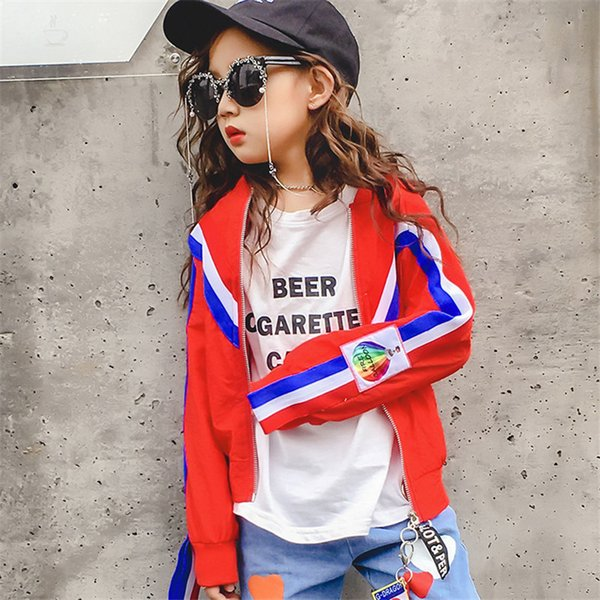 Fashion 2019 Childrens Autumn Jacket Girls Down Jacket Trench Coat Clothing Kids Infant Tops Children Clothes Windbreaker