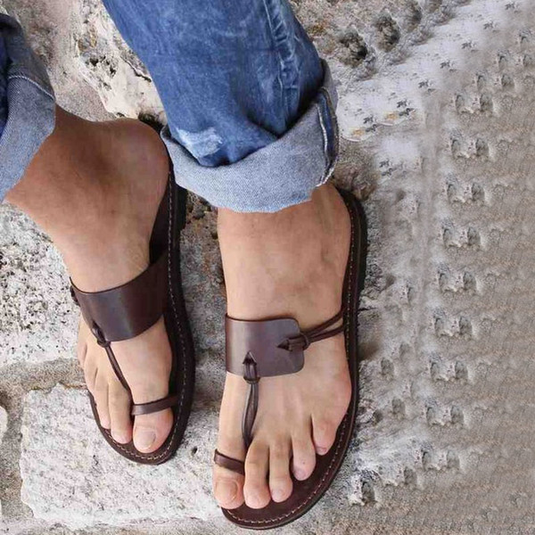 Arden Furtado 2019 verano moda chanclas pantuflas diapositivas de gran tamaño sandalias planas sandalias planas zapatos de mujer talla grande 42 43