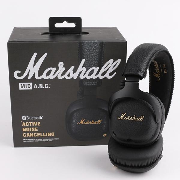 Marshall Major MK II 2 Black Headphones Nueva generación de auriculares con micrófono remoto 2do paquete MARSHALL MONITOR de calidad AAA