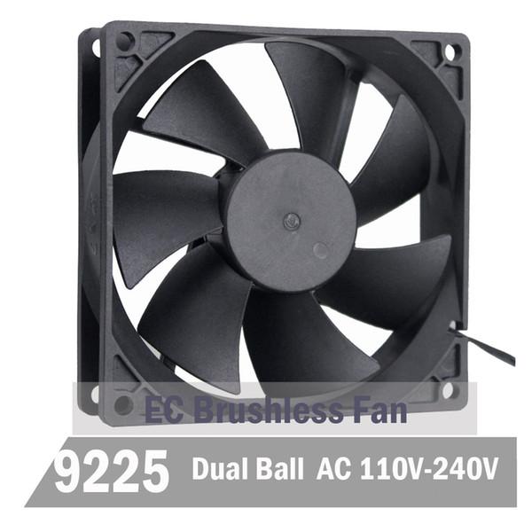 50Pcs Gdstime EC Brushless Fan 9CM 90MM 92MM 92MM X X 25MM EC Motor AC 110V 115V 120V 220V 240V Axial Fan Ball Bearing