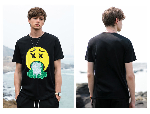 Travis Scott Mens Summer Earth Print Tshirt Astroworld Short Sleeve Crew Neck Hip Hop Style Loose Fashion Relaxed Homme Shirts