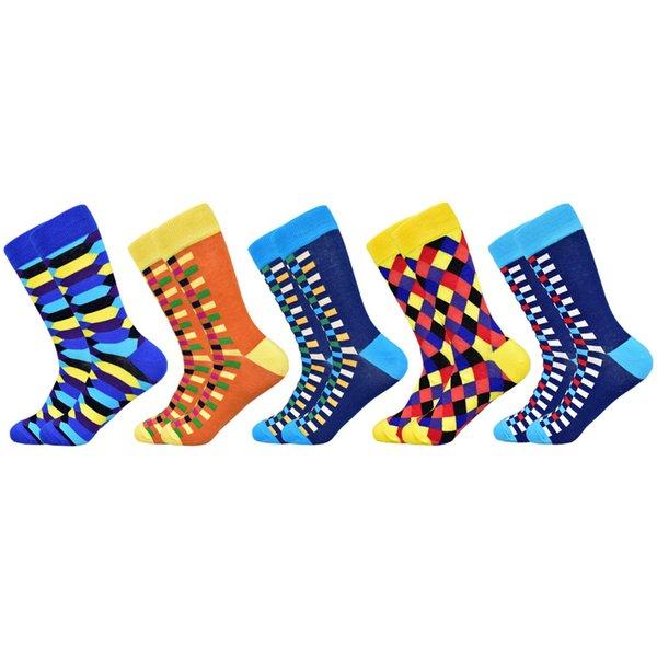 5 pairs of socks-D