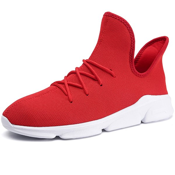 Men Shoes Red 16
