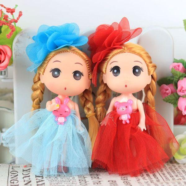 2019 Nouvelle Princesse Kawaii Poupée Confuse Mignonne Poupées Fille Barbie Sac Décoration Mode Jouets pour Filles Cadeaux D'anniversaire Enfants Jouet