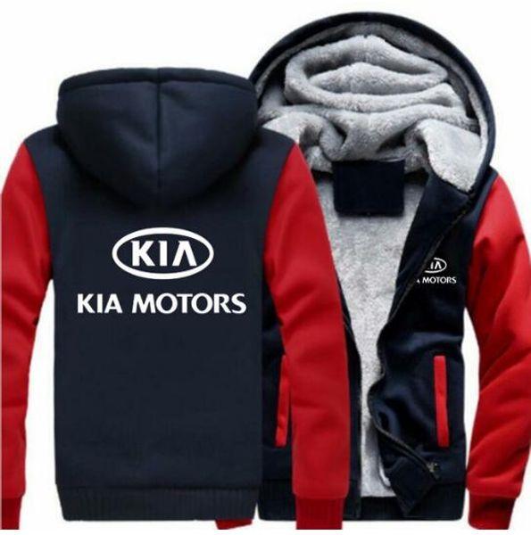 Abrigo Compre De Kia Con Capucha Motors Espesar Invierno WWBT6z