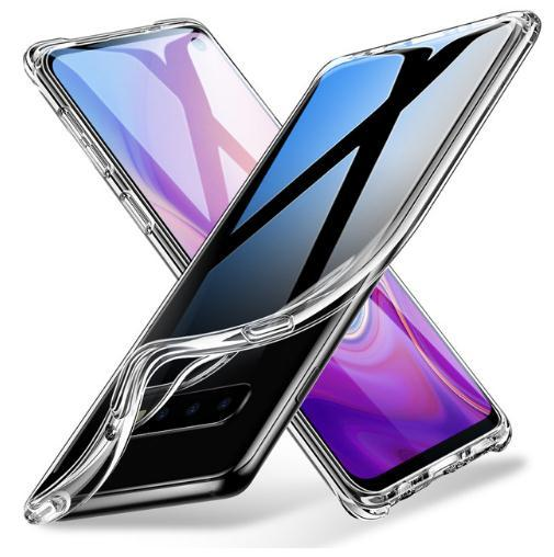 Soft TPU Case for Samsung Galaxy S8 S9 S10 S10 Plus Cover Ultra Thin Transparent Crystal Bumper Cover For Samsung Galaxy S10 e Note 8 9