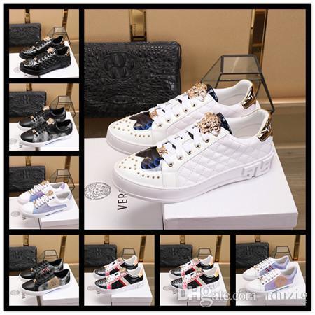 19ss Mix 20 Modelo Mujer hombre Zapatos de diseño Zapatos planos con cordones Serpiente tigre abeja Vestido de dama bordado sneake zapato de niño niña zapatos casuales blancos