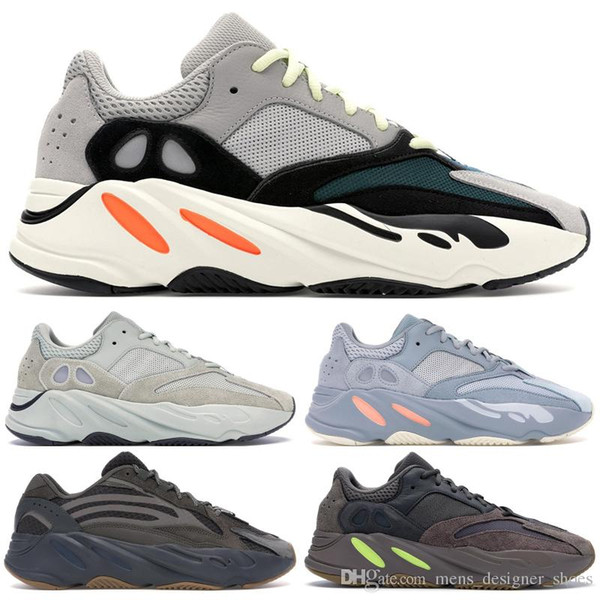 2019 Wave Runner 700 V2 Hommes Chaussures De Course Geode Statique Mauve Sel Solide Gris Inertia Mode Femmes Sports Sneakers Chaussures 36-46