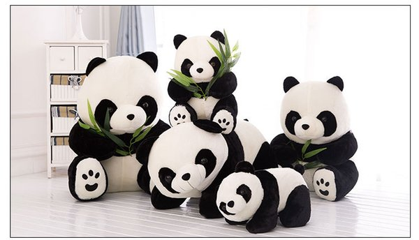 Panda China Stuffed Animals Plush Toys Car Decoration Valentine's Day Gifts Toys Girlfriend Birthday Gifts Toys New Arrvial Hot Sale
