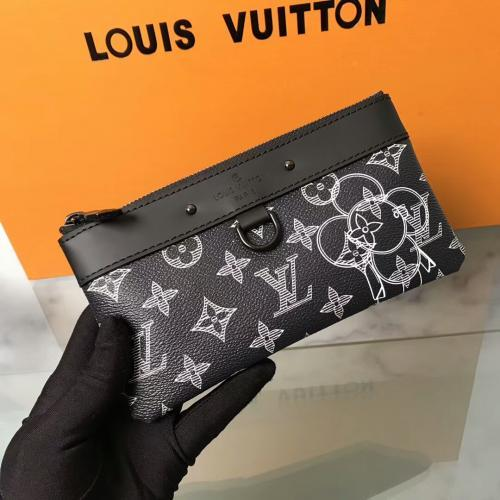 New POCHETTE APOLLO PM Sun Flower Mobile Phone Case Card Holder Coin Purse M62897 OXIDIZED LEATHER CLUTCHES EVENING LONG CHAIN WALLETS