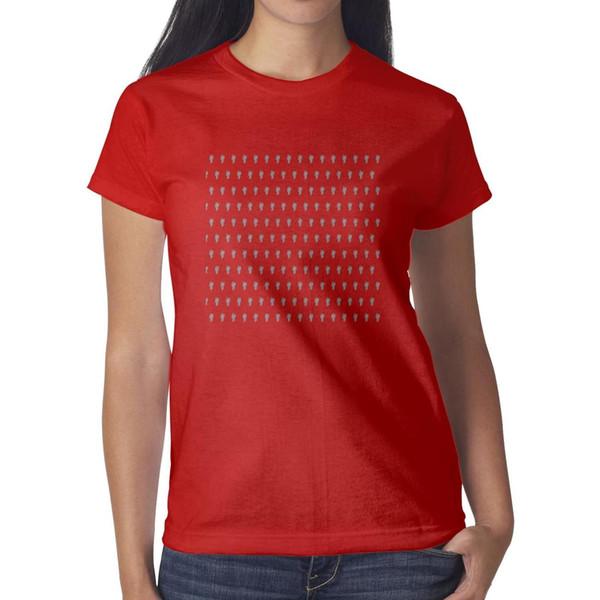 La camiseta roja del logotipo de Billie eilish, camisetas, camisetas, impresión de las camisetas personalizadas hace una camiseta casual