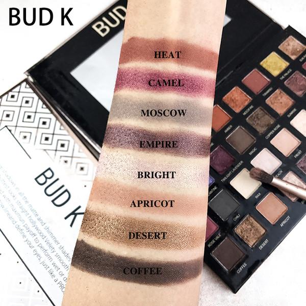 32 Renkler Göz Farı Paleti makyaj Mat Pigment Göz Farı Paleti Su Geçirmez Giymek kolay Pırıltılı makyaj Göz Farı