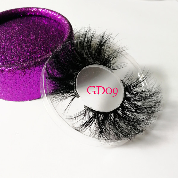 Set Handmade 3D Mink Hair False Eyelashes Natural Long Cross Lashes Full Strips Fluffy Eye Makeup Beauty Extension Tools 21