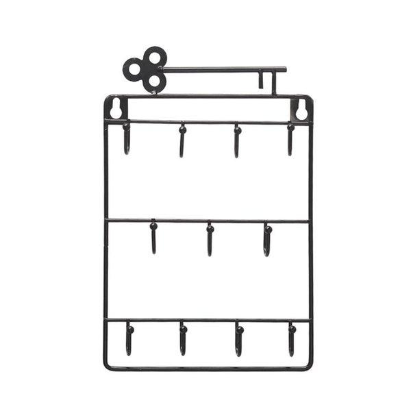 1PC Iron Art Wall Hook Nordic Over the Door Hook Simple Wall Storage Rack Door Hanger For Coat Key Towel Bag Hooks