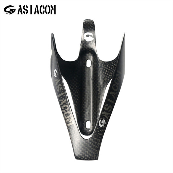 ASIACOM Ultralight Full Carbon Bike Bottle Cage Road Bicycle Water Bottle Cages