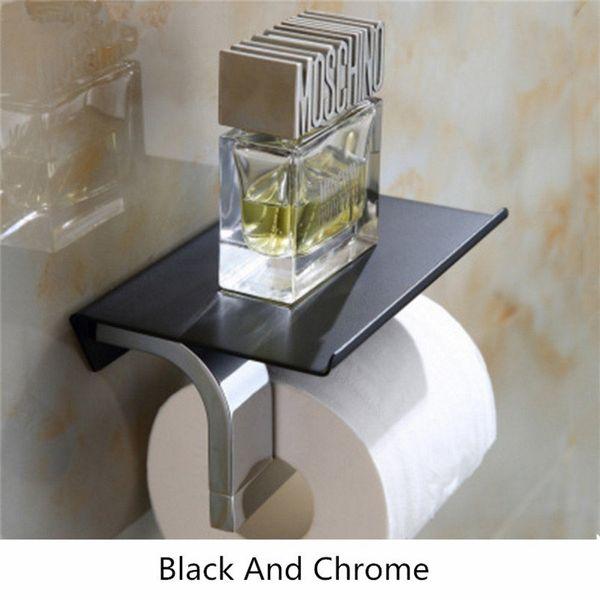 Schwarz und Chrom
