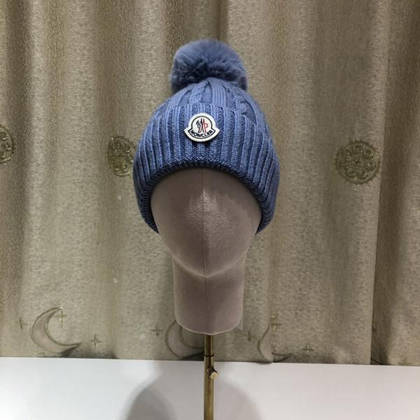 M764,90, Sonbahar ve kış yeni şapkalar, sıcak şapka, harf baskı, knitting.Hairball, Düz renk.