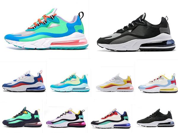 27C Réagir Hommes Femmes Chaussures de course Bauhaus optique HYPER Summit JADE Blanc Designer Hommes formateurs Sport Sneaker Taille 36-46