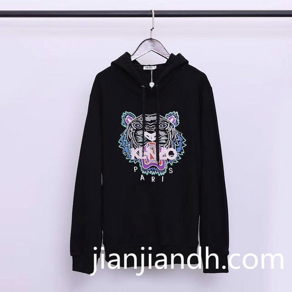 New Sweatshirt 19 foreign trade original men and women with the same paragraph cotton sweater fashion hooded sweater 719 59660520