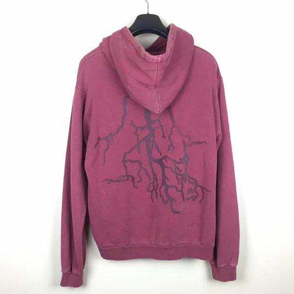 Caliente Raf Simons A / W 2002-2003 apenada sudaderas con capucha suéter mujeres de los hombres de la vendimia del otoño del invierno del suéter encapuchado Outwear la calle HFYMWY328